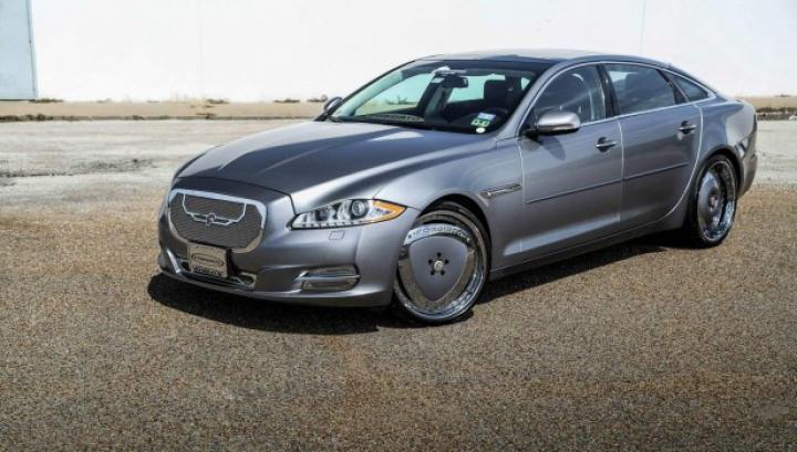 Americanii de la Forgiato au modificat un Jaguar a l'americaine. Vezi ce le-a ieşit