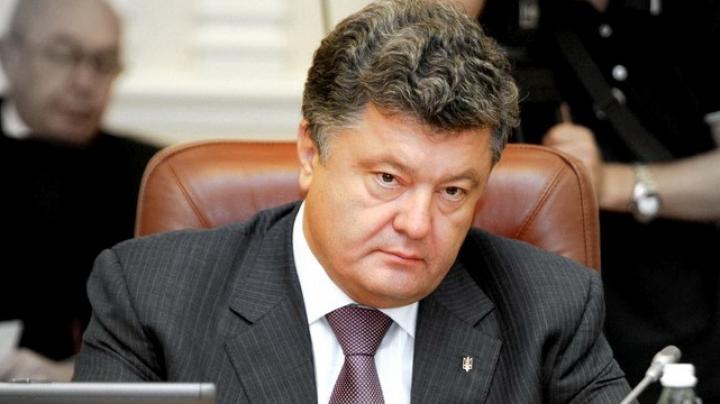 Preşedintele Ucrainei, Petro Poroşenko, vine în Moldova DETALII