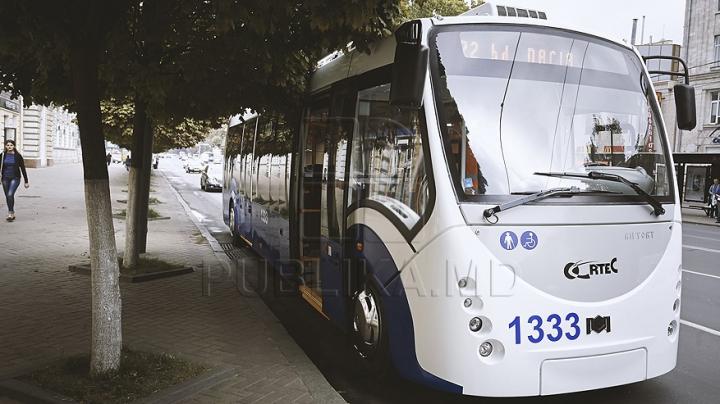 Primăria Chişinău a luat o decizie cu privire la ruta celui mai nou troleibuz din dotare. Pe unde circulă vehiculul