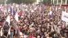 Proteste de amploare în Ucraina şi Georgia. Oamenii condamnă ocupaţia rusească (VIDEO)
