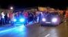 Raliuri ilegale pe strada Uzinelor din Chişinău. Şase echipaje ale Poliţiei patrulare au intervenit (VIDEO)