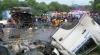 ACCIDENT TERIBIL! Peste 50 de oameni au murit în urma impactului dintre un autobuz şi un camion
