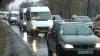 Trafic paralizat din cauza ploii pe strada Albişoara! Oamenii au stat în ambuteiaje de sute de metri (VIDEO)