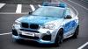 O nouă versiune a lui BMW X4: Este în uniforma poliției germane și are 245 de cai putere
