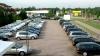 Furt de proporţii! Maşinile unei reprezentanţe Volkswagen au rămas fără roţi în câteva ore (FOTO)