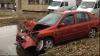 ACCIDENT GRAV  la Ungheni! Trei maşini s-au făcut zob din cauza unui şofer nedisciplinat (VIDEO)