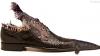 """Pantofi din piele de crocodil """"Made in Moldova"""". Firma are comenzi pe trei luni înainte"""