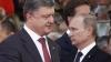 Poroşenko şi Putin au avut o convorbire telefonică. Ce au discutat cei doi preşedinţi