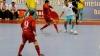 Selecționata Moldovei de tineret la futsal a făcut show în partidele amicale cu România
