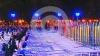 Un patinoar uriaş s-a deschis la Moscova. Sute de oameni s-au urcat pe patine, în anticiparea iernii