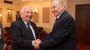 Nicolae Timofti s-a întâlnit cu președintele Partidului Popular European. Ce au discutat cei doi oficiali