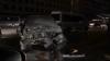 (VIDEO) Accident teribil în centrul Chişinăului. Un SUV a fost făcut zob