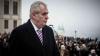 Protest de amploare în Cehia. Preşedintele ţării e acuzat că ar avea simpatii excesive faţă de Moscova
