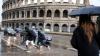 Roma, paralizată de o furtună puternică: Străzile s-au transformat în râuri, iar unele blocuri au fost inundate