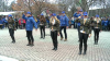 ''Tineri, ieșiți la vot!'' Aripa tânără a PD a organizat un flash-mob de mobilizare a alegătorilor