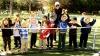Tenismenii moldoveni au oferit un master class copiilor de la Şcoala de Tenis din Capitală