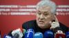 Voronin, la raport. Liderul PCRM a chemat jurnaliştii să le spună ce face în campania electorală (VIDEO)