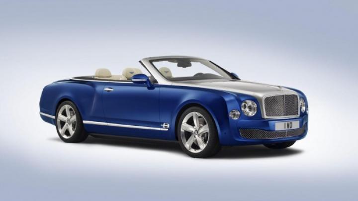 Bentley vine la salonul auto de la Los Angeles cu un nou model exclusiv (FOTO)