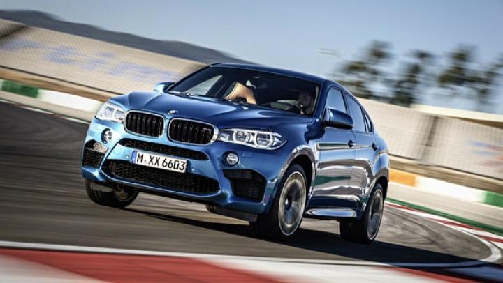 BMW susţine că noul X6 M este cel mai rapid SUV din lume (VIDEO)