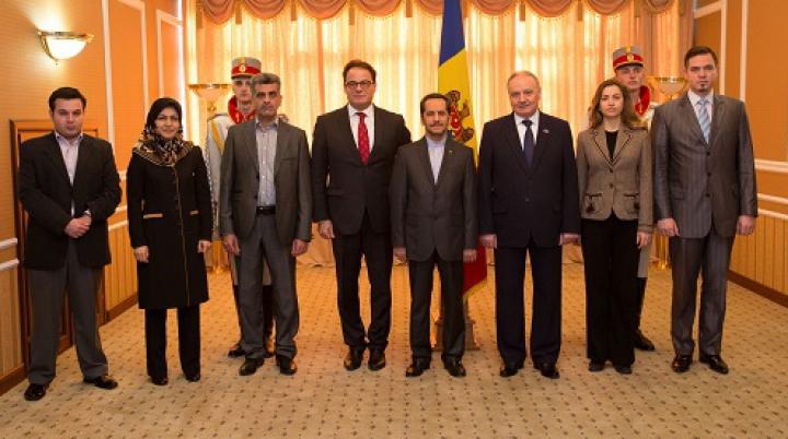 Noi ambasadori şi-au prezentat scrisorile de acreditare preşedintelui Timofti. Din care ţări au sosit