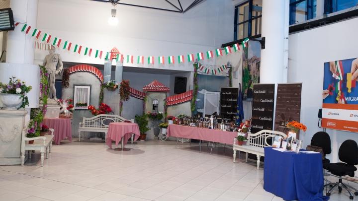"""SRL """"Avia Invest"""" sărbătoreşte Zilele Culturii Italiene în aeroportul din Chişinău"""