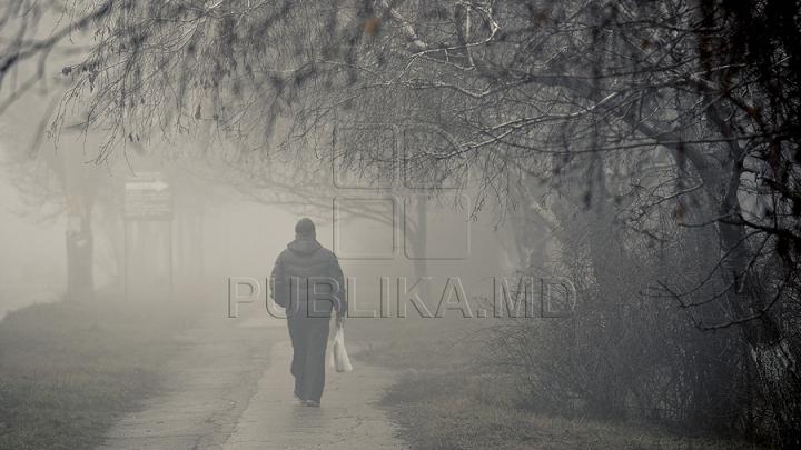 ATENŢIE! Meteorologii au emis cod galben de ceaţă pe întreg teritoriul ţării