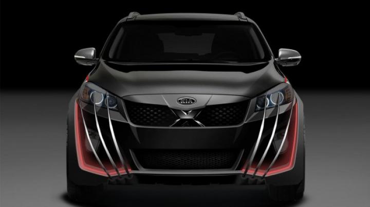 """Kia a creat SUV-ul destinat """"Oamenilor-X"""". Vezi ce legendă i-a inventat"""