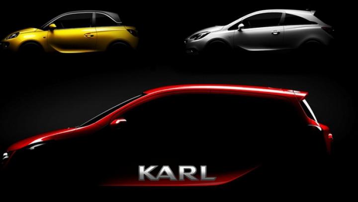Opel pregăteşte un nou model. Ce specificaţii va avea Karl (FOTO)