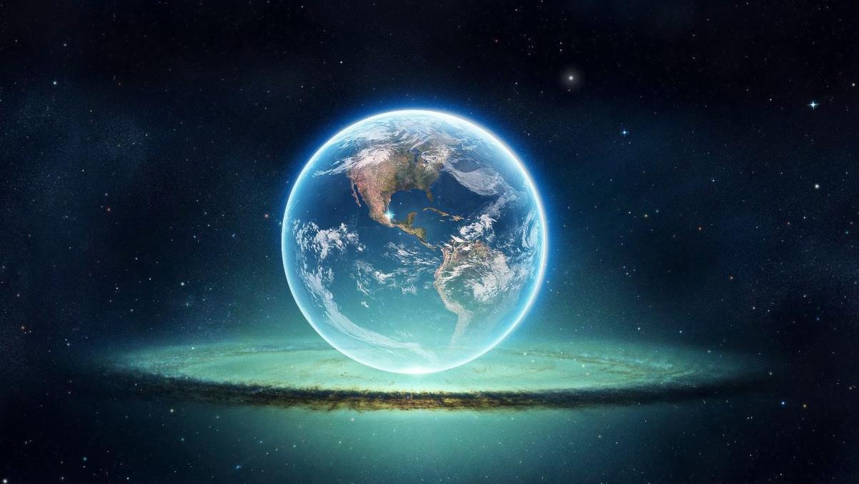 Imagini Impresionante Adevărata Culoare A Pămantului Văzut Din