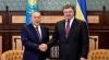 Poroşenko: Ucraina şi Kazahstanul vor relua colaborarea în sfera militară