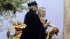 Situație tragicomică la Vatican. O femeie cu sânii goi a furat statueta Pruncului Iisus (VIDEO)