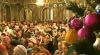 Bucurie şi lumină! Sute de oameni au mers de dimineaţă la slujba de Crăciun pe stil nou (VIDEO)
