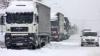 Un Tir plin cu cereale este blocat în localitatea Moscovei, Cahul din cauza ninsorilor