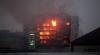 Incendiu de proporţii în Daghestan. Flăcările au cuprins clădirea Serviciului Federal de Securitate (VIDEO)