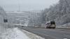 Ninge în Moldova: Pe drumurile naţionale au avut loc mai multe accidente, iar doi oameni au fost internaţi