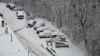 Nordul ţării, paralizat din cauza zăpezii. La Glodeni au avut loc două accidente rutiere