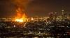 Incendiu devastator la Los Angeles! Peste 250 de pompieri s-au luptat cu flăcările