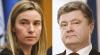 Şefa diplomaţiei UE, tete-a-tete cu preşedintele Ucrainei. Ce i-a promis Mogherini lui Poroşenko