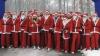 Concurs inedit la staţiunea elveţiană Samnuan. Moş Crăciunii au concurat în patru probe diferite