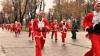 Maraton de Crăciun în capitală. Participanţii au fost răsplătiţi la fiecare intersecţie a traseului