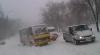 Sudul ţării, paralizat din cauza nămeţilor. La Cahul zeci de maşini sunt blocate în trafic (VIDEO)
