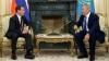 I-a uimit pe jurnaliști! Cum a venit Medvedev la întâlnirea cu Nazarbaev (FOTO)