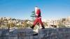Apariţie stranie în Israel! Un Moş Crăciun a vestit naşterea lui Iisus