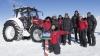 INCREDIBIL! O olandeză a ajuns la Polul Sud la volanul unui tractor (FOTO)