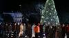 Familia Obama a deschis oficial sezonul sărbătorilor de iarnă în Statele Unite