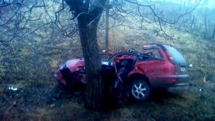 Accident groaznic pe traseul Cahul-Cantemir. Un bărbat a decedat pe loc (FOTO)