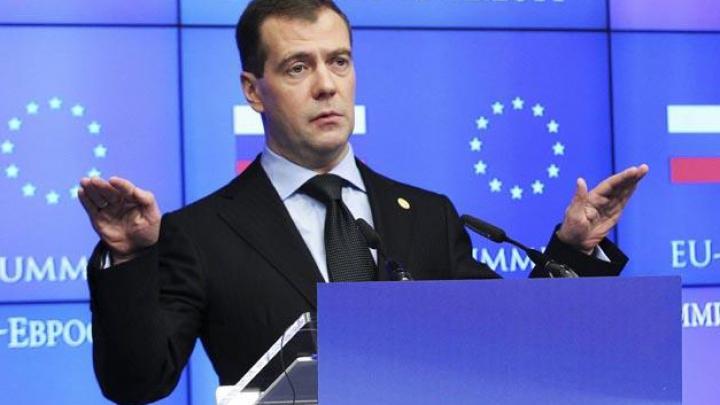 Profeţiile lui Medvedev: Câte miliarde de euro va pierde UE din cauza sancţiunilor impuse Rusiei