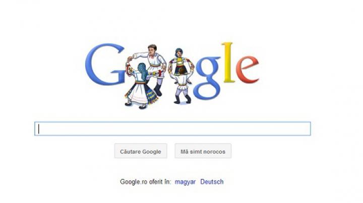 """Ziua Națională a României, sărbătorită de Google. Cum arată """"cadoul special"""""""