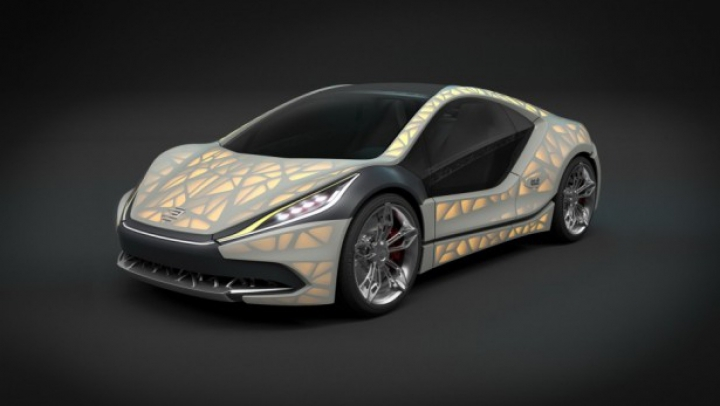 Proiect fără precedent! Un sportcar compact este noul concept al unor ingineri germani