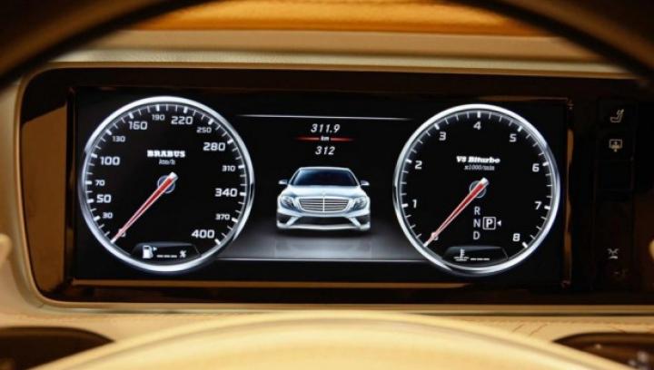 Brabus a depășit Mansory! A creat un Mercedes S-Class cu un motor de 850 de cai putere